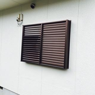 角度調整して大雨でも窓開けられます!
