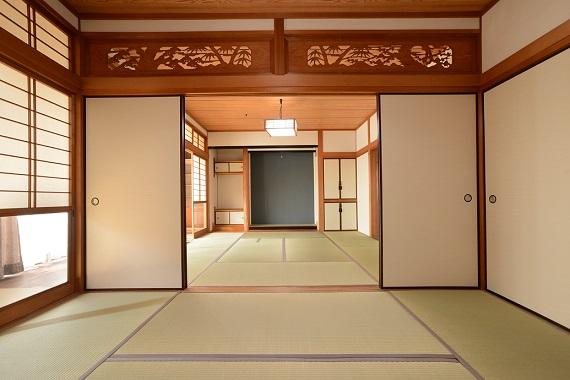 やはり和室は落ち着きます。