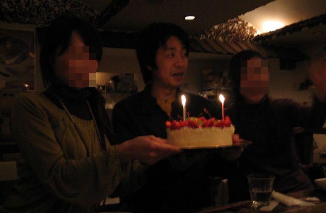 昨年、小学同級生の同窓会で私の誕生日が重なったので皆様から祝って頂きました!感謝申し上げます。